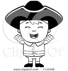 colonial boy coloring page royalty free rf colonial boy clipart illustrations vector