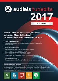 amazon com audials tunebite 2017 platinum save music and films