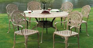 Tuscany Outdoor Furniture by Cast Aluminum Outdoor Furniture Backyard Landscape Design