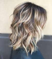 lobs thick hair balayage hairstyles for thick hair curly wavy lob hair cuts for