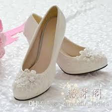 lace ivory wedding shoes 2014 ivory wedding shoes lace applique handmade bridal shoes