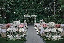 Wedding Ceremony Rustic Outdoor Ceremony Luxe Garden Inspired Reception