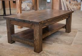 Coffee Tabls Farmhouse Coffee Table Rustic Solid Wood 18 Exceptional Stained