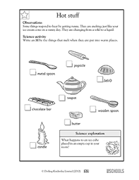 1st grade 2nd grade kindergarten science worksheets stuff