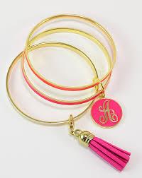 bangle bracelet diy images Monogram bangle bracelet stack dream a little bigger jpg