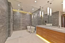 Lighting In Bathroom by Led Lighting In Bathroom Lighting Bathroom Idea With Drop
