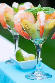 martini shrimp sungold kiwifruit shrimp cocktail zespri kiwifruit north america