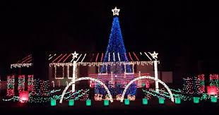 Lighted Peacock Christmas Decoration Neighborhoods With Most Outrageous Christmas Lights In Every State