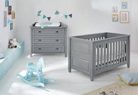 Grey Nursery Furniture Sets Cloud 2 Nursery Furniture Set In Grey Funique Co Uk
