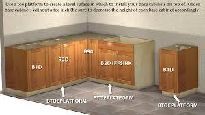 standard cabinet toe kick dimensions base toe kick platform standalone toe kick substitute