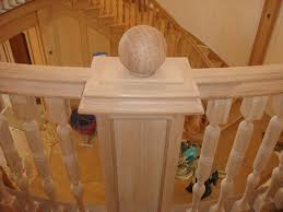 long island custom stair railings wood banisters install