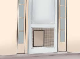Exterior Dog Doors by Backyards Ways Install Pet Door Dog Step Sliding Glass With