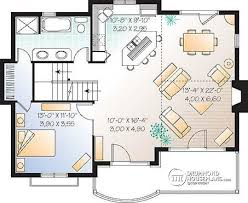 House Plan Layout House Plan W4955 Detail From Drummondhouseplans Com