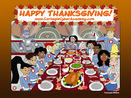 thanksgiving posters cadet life the carnegie cyber academy an online safety site