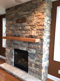 mountain ledge stone fireplace pictures north star stone