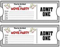 best 25 ticket invitation ideas on pinterest hollywood
