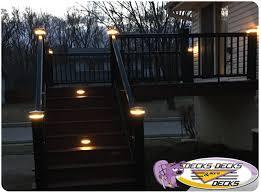 Trex Lighting Accessories Photo Gallery Decks Decks And More Decks Custom