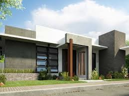 design minimalist modern house modern house design 1 floor simple modern house idea 4 home ideas