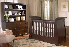 Sleigh Bed Cribs Espresso Sleigh Bed Crib King And Beds Install A Bumper