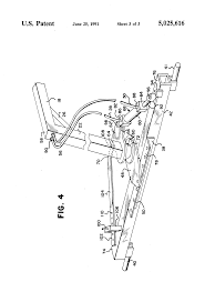 patent us5025616 hayrake hitch and method of use google patents