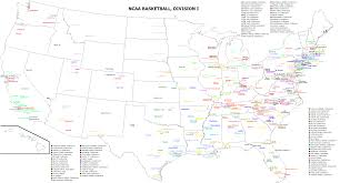 George Mason Map File College Basketball Division 1 Teams Png Wikimedia Commons