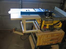 dewalt table saw rip fence extension dewalt table saw extension garage pinterest extensions wood