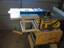 dewalt table saw rip fence extension dewalt table saw extension garage pinterest extensions wood