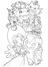 digimon coloring pages coloring digimon pages pinterest