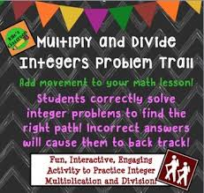 best 25 multiplying and dividing integers ideas on pinterest