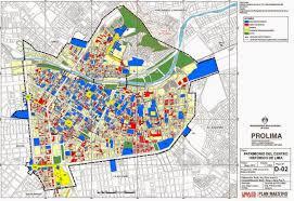 Lima Map Historic Lima Map