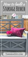 Outdoor Patio Storage Bench Plans by Best 25 Outdoor Storage Benches Ideas On Pinterest Pool Storage