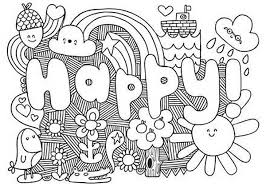 Designs Coloring Pages Funycoloring Happy Coloring Pages