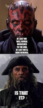 Darth Maul Meme - darth maul and blackbeard imgflip