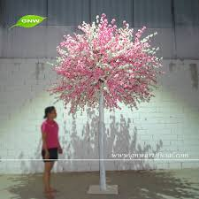 gnw 10ft white and pink tree cherry blossom wedding flower