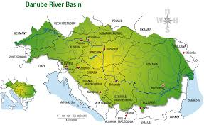 Europe Map With Rivers by Case Study On River Management Danube Wwf
