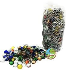 Decorative Glass Stones For Vase Day Multicolor Decorative Glass Pebbles Pack Contains 80 Pebbles