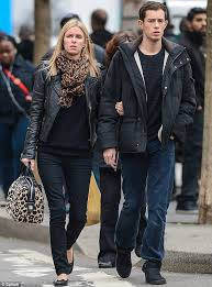 james rothschild takes his darling nicky hilton to the movies
