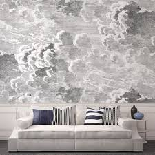 Fornasetti Curtains Cole U0026 Son Mural Large Scale U0027nuvole U0027 Cloud Wallpaper From Their