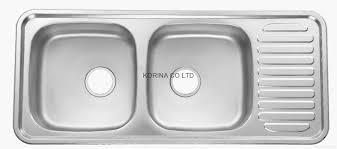 Kitchen Sinks Double Bowl Interesting Single Or Double Kitchen - Single or double bowl kitchen sink