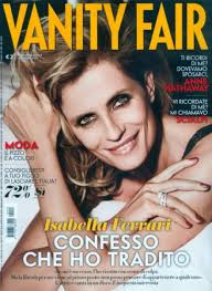 Vanity Fair Latest Issue Isabella Ferrari On The Cover Of Vanity Fair July 18th Issue