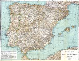 Granada Spain Map by Free Maps Of Spain