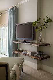 Wooden Wall Shelf Designs by Best 25 Floating Tv Shelf Ideas On Pinterest Floating Tv Stand