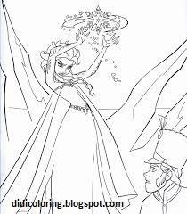 free printable princess elsa walt disney characters coloring