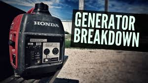 honda generator breakdown full time rv living honda