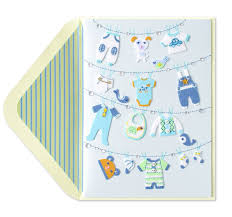 baby card clothesline new baby boy baby boy cards papyrus