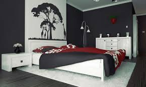 Download Black And White And Red Bedroom Gencongresscom - White and red bedroom designs