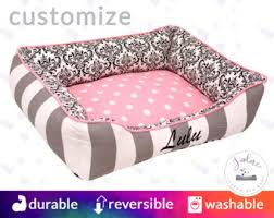 Pink Camo Dog Bed Pet Bed Etsy
