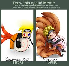 Naruto Meme - meme before and after chibi naruto by kellisan1234 on deviantart