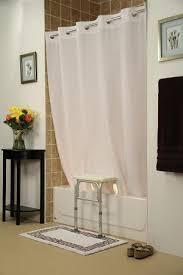 Bathroom Transfer Bench Bench Buddy Hookless Shower Curtain Simplicity For Tub Transfer