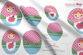 nesting dolls cut and sew pattern fabric fantastictoys spoonflower